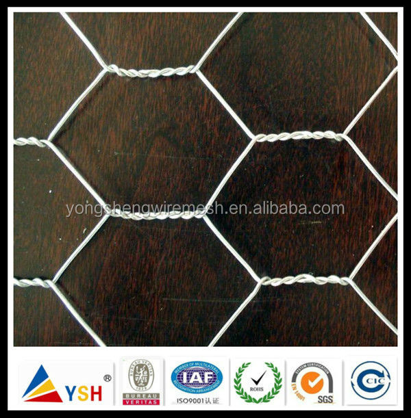 5m x 900mm x 50mm Gabion Mesh Chicken Wire Mesh Hexagonal Hot Dipped Galvanised Netting Roll