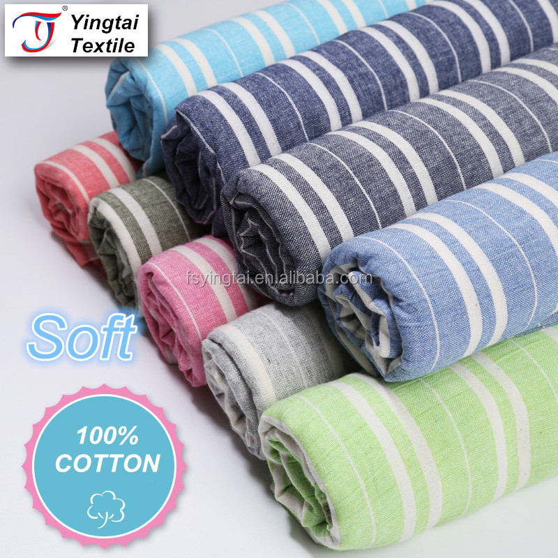 2016 NEW China supplier wholesale fabric textile 100% cotton material Combed Yarn Type dyeing fabric