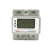 Single phase prepaid electronic energy meter digital electric meter