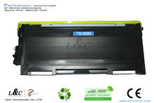 cartridge rechargeable TN2000 for sale compatible brother toner cartridges