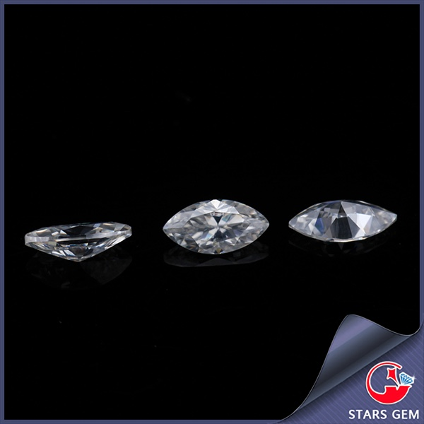 wholesale white color MS China equipment moissanite for jewelry ring