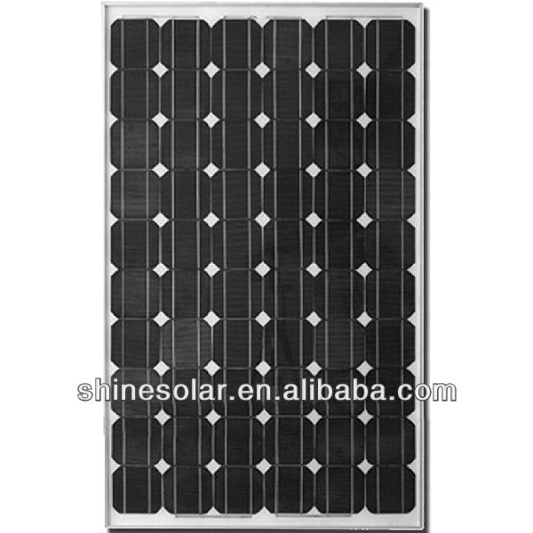 100 Watt Monocrystalline Solar Panel With German solar cells