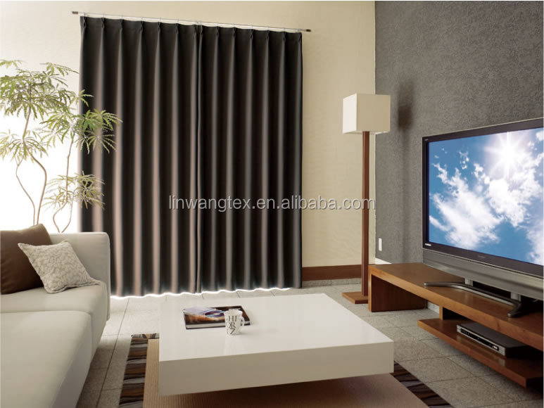 china new design elegant sound proof curtains