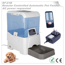 New Infrared remote controller AC power Pet bowl, Dog feeder,Automatic pet feeder