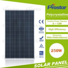 250w polycrystallfactory directly sell solar panel cover glass thickness pv solar panel price