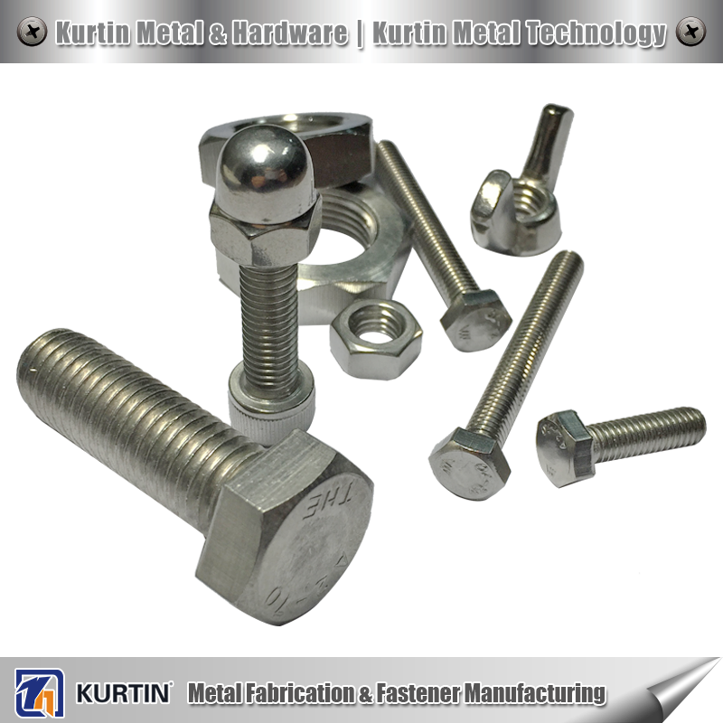 stainless steel a2 50 bolt with nut