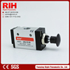 Standard 3R210-08 hand brake valve,2 Positions 3 Way pneumatic control valve with handle