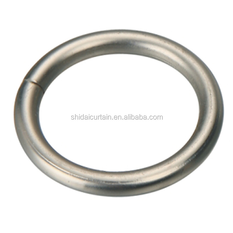 25R002 Hot sale popular bedroom curtain metal rings