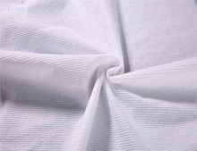 factory price breathable waterproof 100% polyester terry fabric