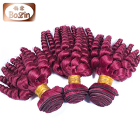 Alibaba India Human Hair Hot Color For Hot Women Red Indian Remy Hair Weave Bolin Hot Red Hair Weave