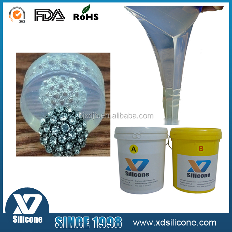 Spin Casting liquid silicone rubber for jewelry mold making silicone rubber for jewelry/disc