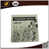 Made In China Cheap Leather Patch Garment Fashion Label