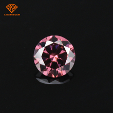M-garnet loose round CZ stone 1mm to 30mm synthetic cubic zirconia