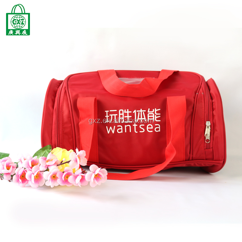 Wholesale cheap custom foldable Yoga sport travel bag for women