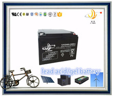 UPS GEL battery 12v 28ah lead acid solar battery 12v 24ah back up storage battery
