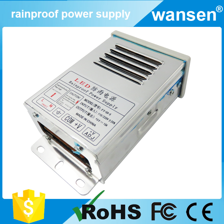 CE approved 12v 4a 45w waterproof ac-dc constant voltage led driver, 4 amp 12 volts power supply