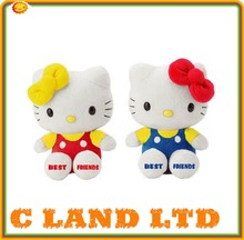 hot sale soft hello kitty wholesale plush customized stuffed toys