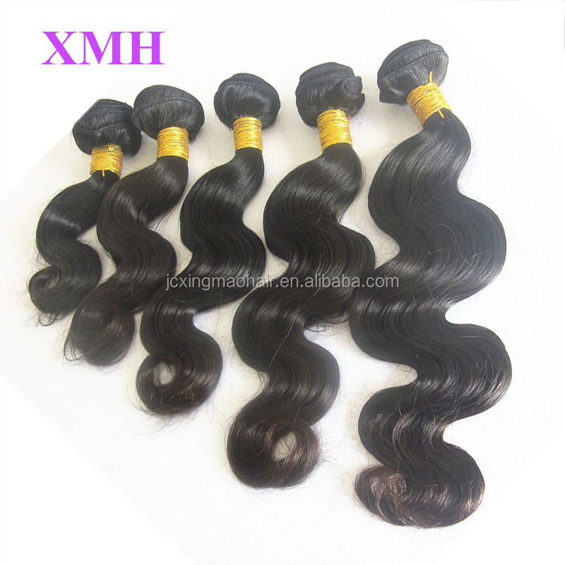Top 10A Premium Quality Natural Color Hair Bundles 100% virgin brazilian hair unprocessed