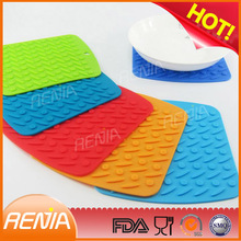 RENJIA silicon rubber hot placemats,silicone rubber placemats and coasters rubber,table mats sale