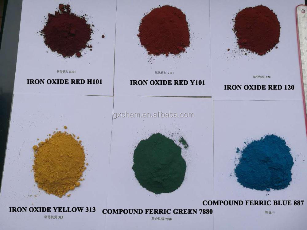 Factory Pigment Hematite Red Oxide H101B