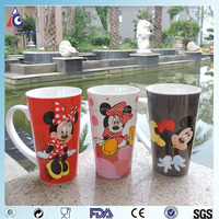 Slim tall mickey mouse mug promotion for 2016