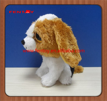 Cute smart dog stuffed plush animal toys for promotional