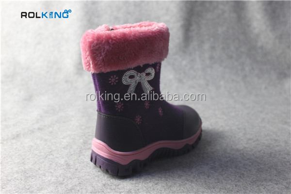Kids Snow Boots , Kids Shoes Manufacturers China