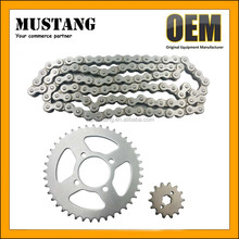 Motorcycle Transmissions Kit 420/107L Chain Sprocket Set for Honda CD70