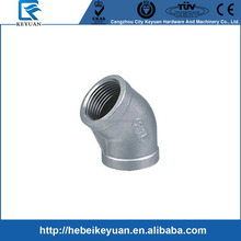 Class 150 pipe fittings,elbow 45 deg,ss316