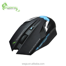Low MOQ 6d silent LED optical kailh sensor driver macro setting USB 2.0 professional wired gaming mouse