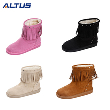Hot new products Microfiber ankle boots for women,boots cheap,winter boots women