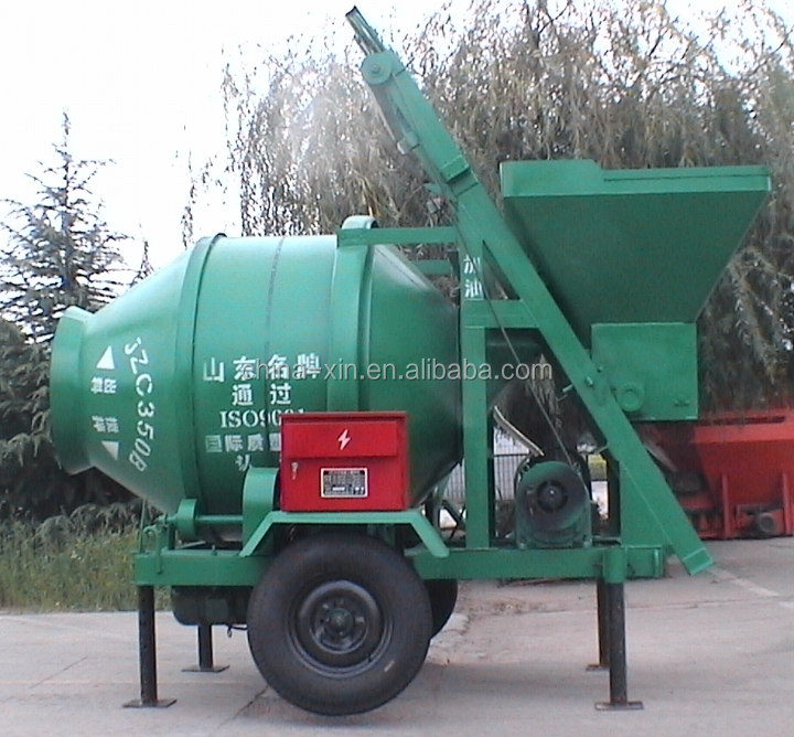 JZC350 Portable Concrete Mixer In Sri Lanka
