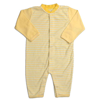 OEM factory organic cotton fabric baby clothes romper