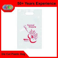 Grocery Story Die Cut Punch Plastic Bag