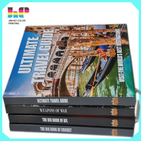 top quality Hardcover Book Printing with DVD