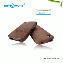 new popular products for iphone 4s wooden case or wooden cover cases