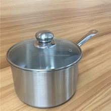 2018 Large Stainless Steel Cooking Pots Wholesale Soup Pot For Sale