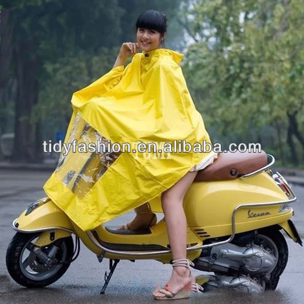 Waterproof Long Bicycle Motorcycle Raincoat