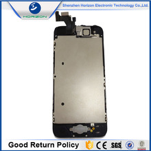 Wholesale Mobile Phones lcd display touch screen digitizer for iphone 5