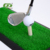 Mini artificial grass golf hitting mat & rubber putting mat & Swing mat