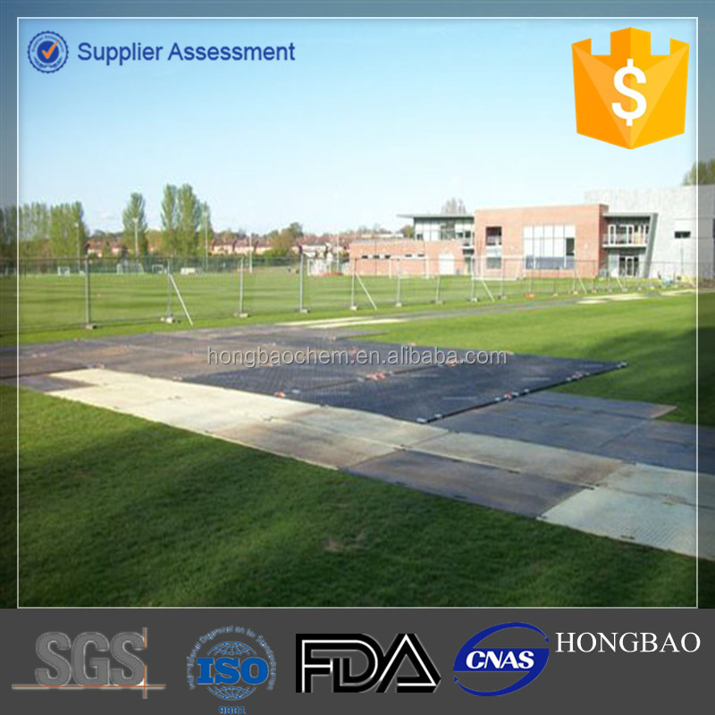 Ground Reinforcement, construction material construction road mat, Portable Roadway mat