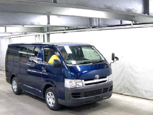 Toyota Hiace Long - 2006 [Van Long] car