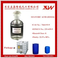 Competitive Price H2SO4 Sulphuric Acid (Sulfuric Acid) 98% 96% 93% Plant