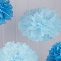 Factory direct best-selling tissue paper poms poms