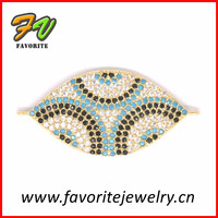 New arrival bead landing pave diamond jewelry