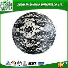 2015 Colorful Printing Rubber Basketball