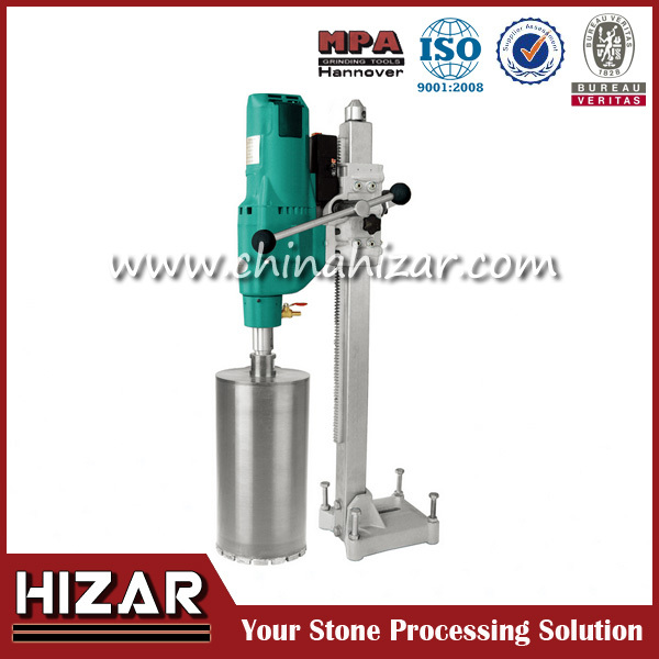 Portable handheld electric concrete core cutting machine