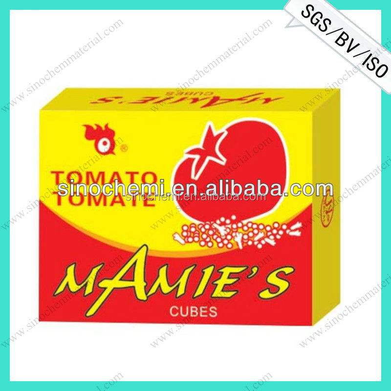 Hot selling tomato bouillon cube in hot soap