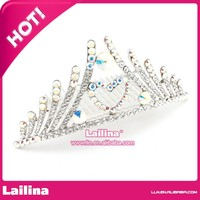 fashion full pageant round crowns