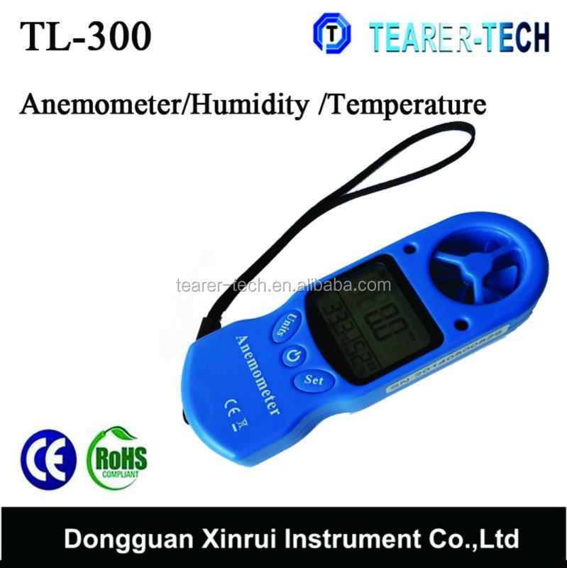 8:1 Digital Air velocity / Air temperature Anemometer LCD Digital Wind Speed Meter Measuring Instruments